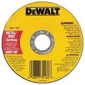 """DEWALT 4-1/2""""X.045""""X7/8"""" METALTHINCUT-OFF WHEEL TYPE-1"""