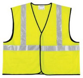RIVER CITY CLASS II SOLID POLY FLUORESCENT LIME SAFETY VEST