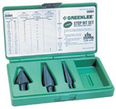 GREENLEE STEP BIT KIT 1-3-13