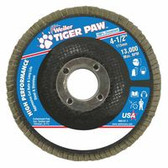 Tiger Paw_ ¢ Coated Abrasive Flap Discs