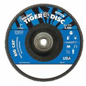 "7"" Big Cat Abrasive Flap Disc, Flat, Phenolic Backing,"