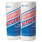 BOARDWALK 2-PLY PERF WHITE PAPER TOWEL 85SH/RL 30 RL/CS