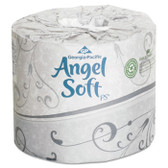 ANGEL SOFT STD-RL 2 PLY TOILET TISSUE WRAPPED WHIT 450SH 40 ROLLS