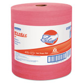 WYPALL X80 RAG REPLACEMENT HYDRO WIPER JUMBO ROLL RED