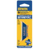 IRWIN UTILITY KNIFE BI-METAL BLADE 5/PACK