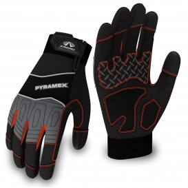 PYRAMEX MEDIUM DUTY TRADE TOUCH SCREEN GLOVE SIZE LARGE