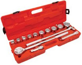 "CRESCENT 14 PIECE 3/4"" DRIVE STANDARD MECHANICS TOOL SET"