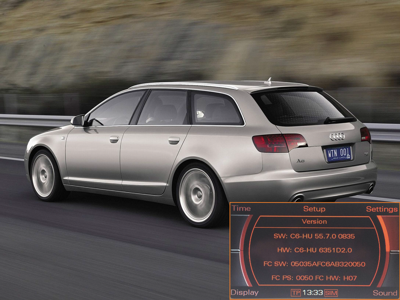Audi RVC video link interface