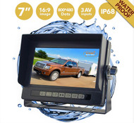 "7"" Waterproof 3 Channel Monitor"