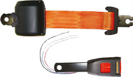 Lap Seat Belt with integral switch