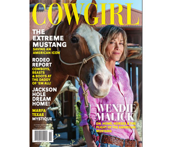 Cowgirl October 2016