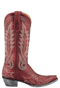 Old Gringo Women's Red Nevada Boots - Side