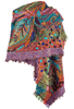 Anu Unfinished Paisley Shawl - Echo - Alternate 1