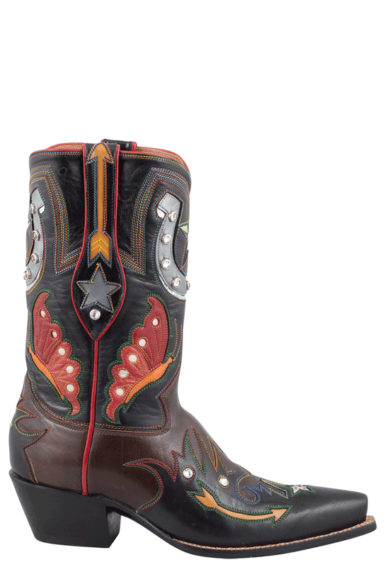 ROCKETBUSTER CLAIRE SHORTIE BOOTS