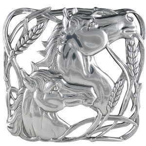 Gift - Horse and Wheat Trivet