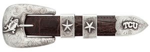 "Texas Christian University 1"" Buckle Set"