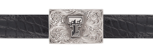 "Texas Tech University Engraved 1 1/2"" Trophy Buckle"