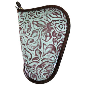 Gift - Pistol Case Small - Turquoise - Front
