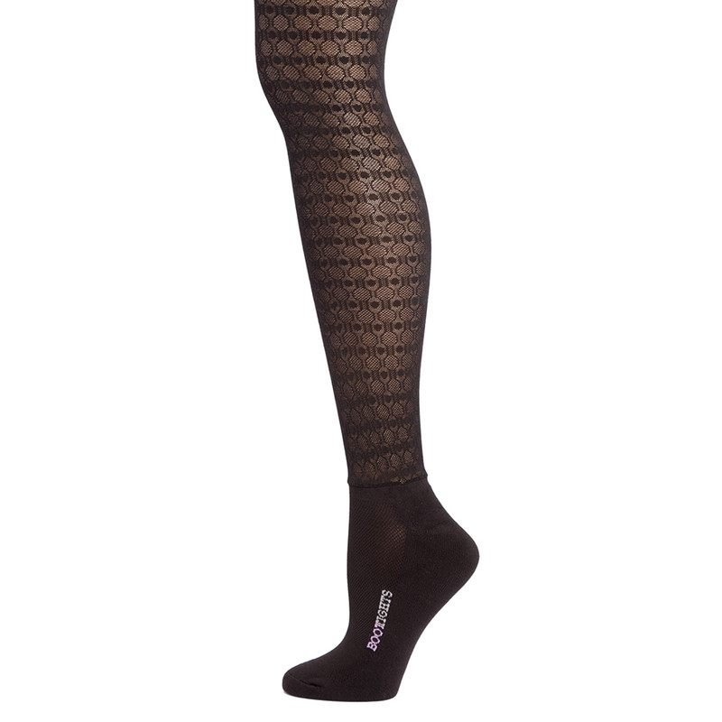 Bootights Halstead Semi-Opaque Tights - Black