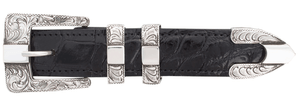 "Pinto Ranch Center Bar 1"" Buckle Set"