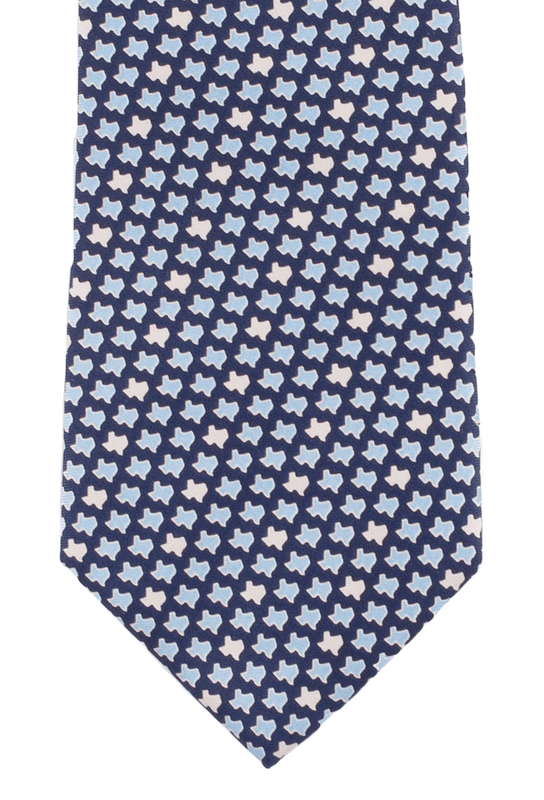 Paris Texas Apparel Co. Texas States Tie - Navy
