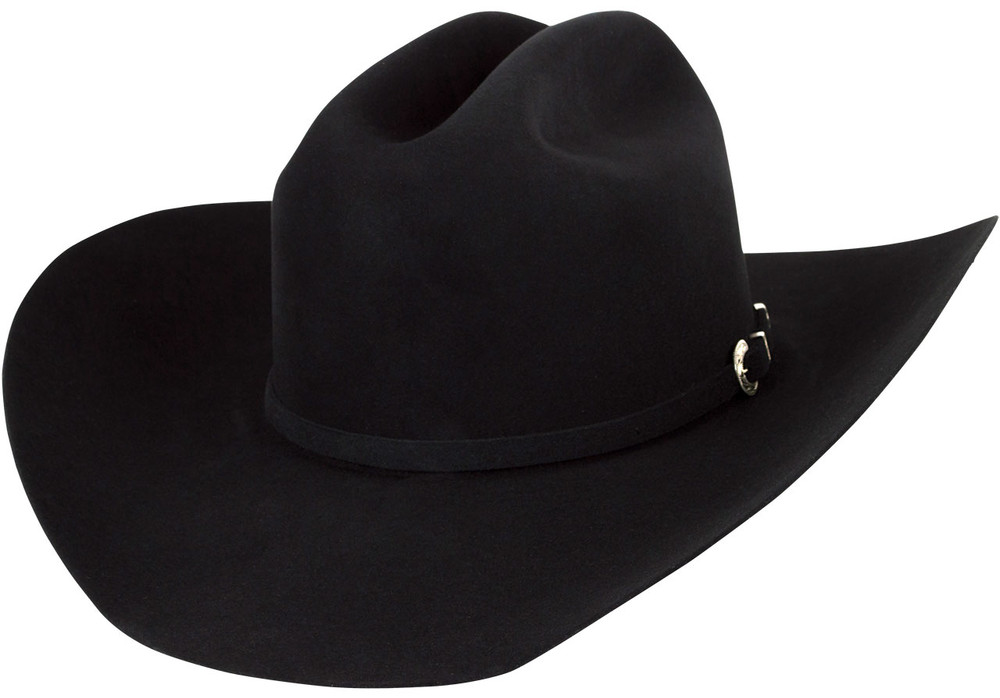 American Hat Co. 40X Cattleman Felt Hat - Black - Pinto Ranch d35aefed1411