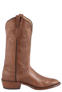 Rios of Mercedes Men's Chestnut Remuda Boots - Side