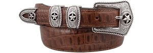 Country Croc Belt - Tan