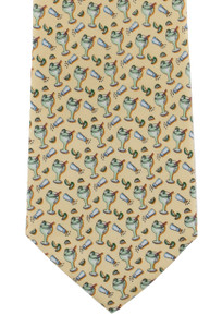 Paris Texas Apparel Co. Margarita Tie - Yellow