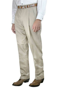 Pinto Ranch Basic Pleated Cotton Pants - Front
