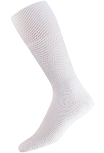 Thorlo Large White Western Dress Socks