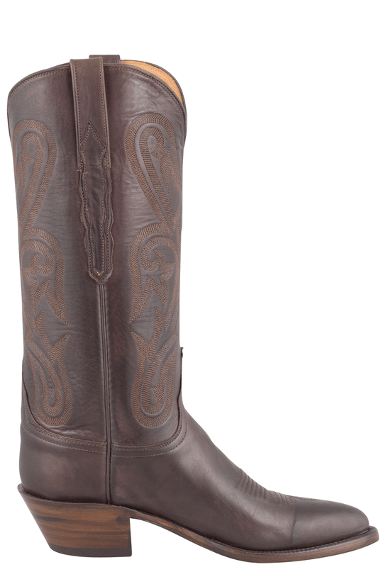 LUCCHESE WOMEN'S CHOCOLATE RANCH HAND BOOTS