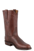 Lucchese Men's Chocolate Oiled Ranch Hand Roper Boots - Hero