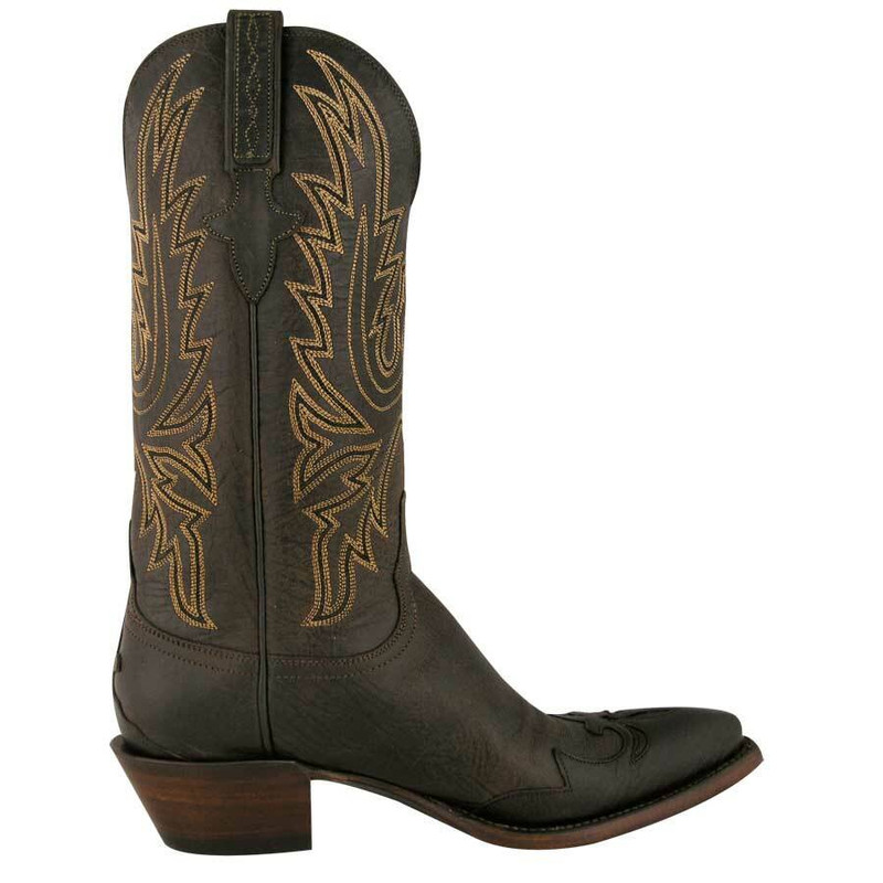 3538d22827b23 Lucchese Ladies Mad Dog Boots - Chocolate - Pinto Ranch
