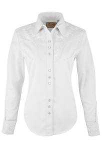 Scully Women's Gunfighter Western Snap Shirt - Front