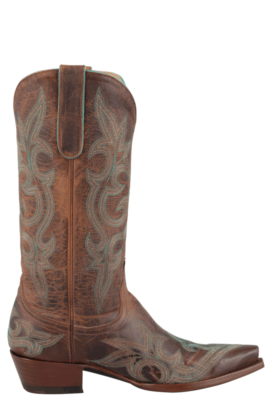 Old Gringo Women's Rust Diego Boots - Side