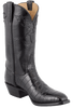 Lucchese Men's Black Nile Crocodile Boots - Hero