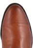 Lucchese Men's Cognac Burnished Ranch Hand Roper Boots- Toe