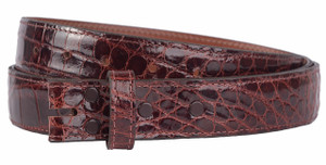 "Alligator 1 1/4"" Straight Belt Strap - Torino 1"