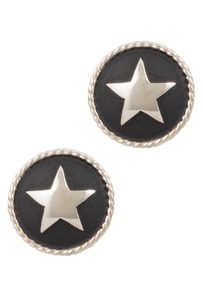 Pinto Ranch Antique Rope Star Cufflinks - Front