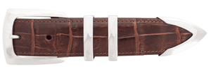 "Greg Jensen Sleek 1 1/4"" Buckle Set"