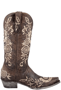 Old Gringo Women's Brown Lucky Boots - Side