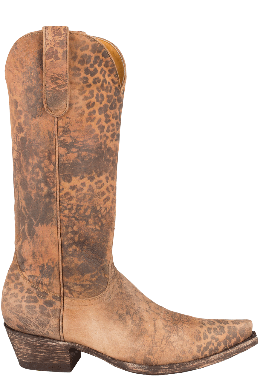 7b50205f6ad Old Gringo Women's Leopardito Boots