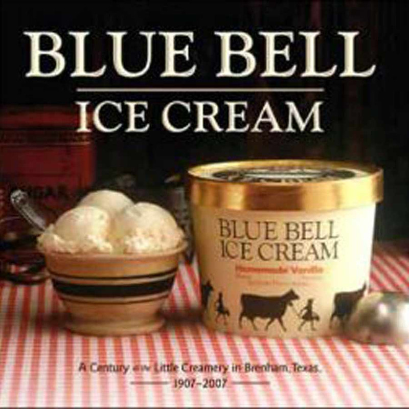 """Blue Bell Ice Cream: A Century at the Little Creamery in Brenham, Texas 1907-2007"""