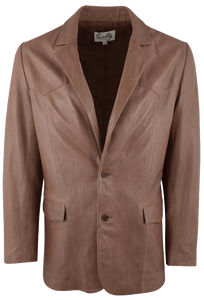 Scully Antique Lamb Blazer - Front