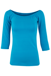 Vintage Collection Ballet Top - Blue - Front