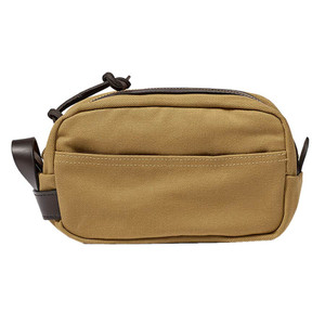 Filson Travel Kit - Dark Tan - Front