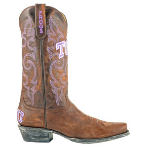 Gameday Men's Texas Christian University Boots - Side