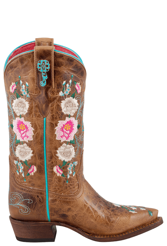 Macie Bean Kids Honey Bunch Embroidered Boots - Side