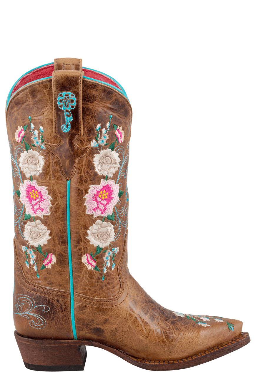 6c3d4568d73 Macie Bean Kids Honey Bunch Embroidered Boots